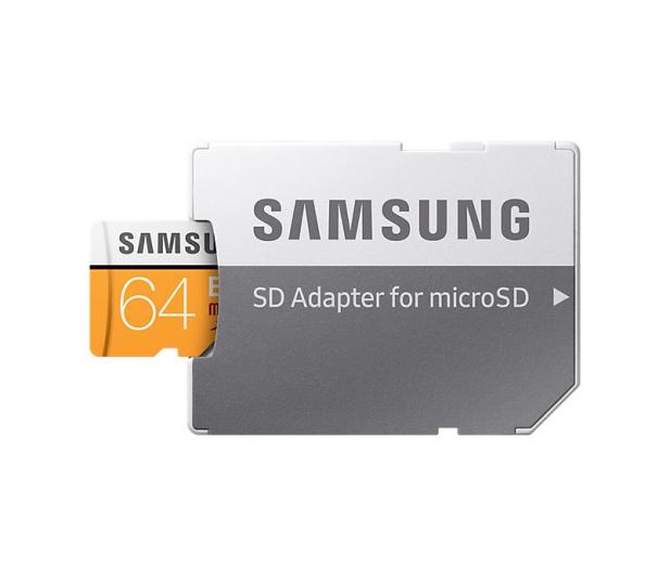 Samsung 64GB microSDXC Evo zapis 60MB/s odczyt 100MB/s  - 360776 - zdjęcie 5
