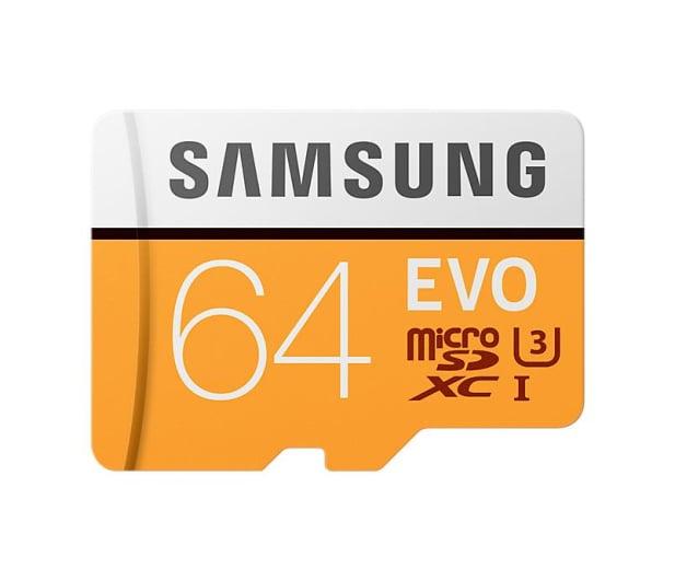 Samsung 64GB microSDXC Evo zapis 60MB/s odczyt 100MB/s  - 360776 - zdjęcie