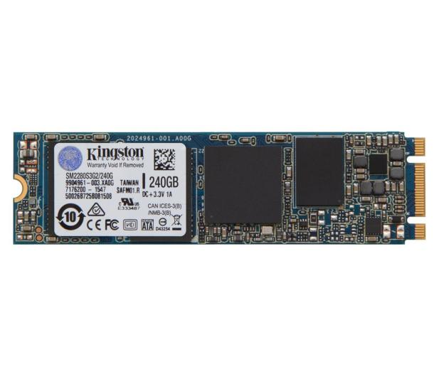 Kingston 240GB M.2 2280 SSD G2  - 286591 - zdjęcie