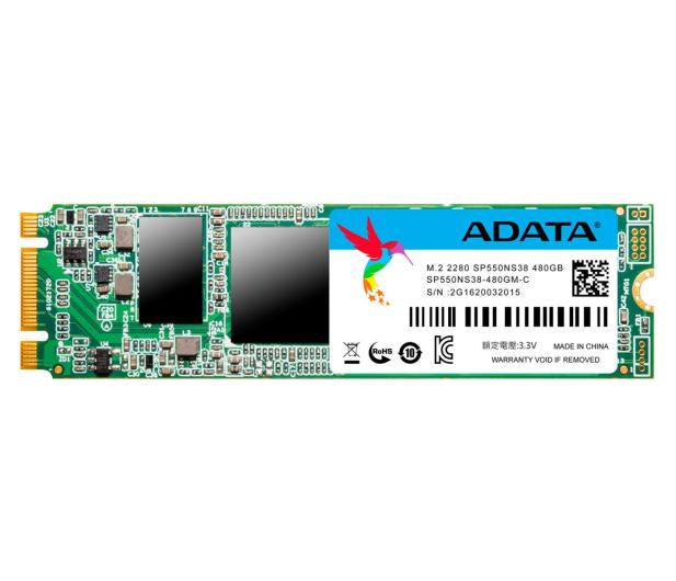 ADATA 480GB 2,5'' SATA SSD Premier Pro SP550 M.2 2280  - 323365 - zdjęcie