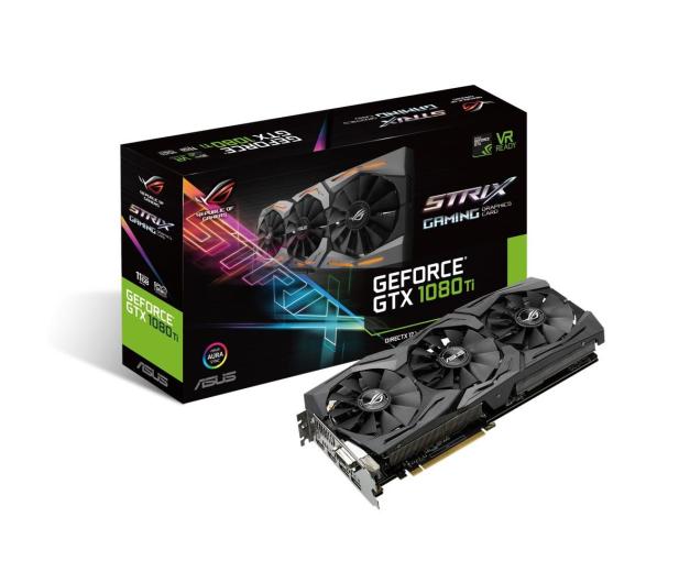 ASUS GeForce GTX 1080 Ti Strix ROG 11GB GDDR5X - 361183 - zdjęcie