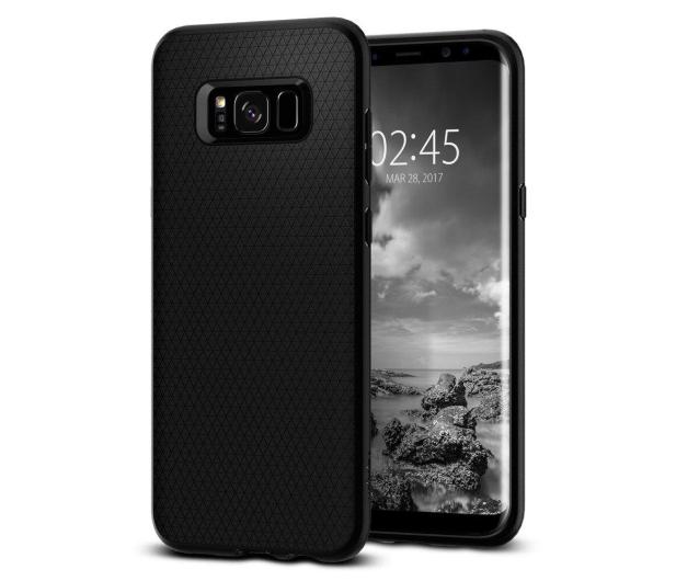 Spigen Liquid Air do Galaxy S8 Black - 361227 - zdjęcie