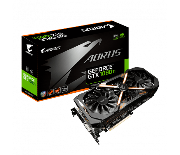 Gigabyte GeForce GTX 1080 Ti Aorus 11GB GDDR5X - 360024 - zdjęcie