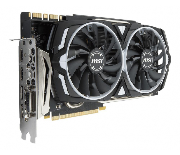 MSI GeForce GTX 1080 Ti ARMOR OC 11GB GDDR5X  - 361262 - zdjęcie 3