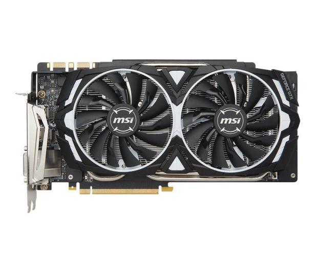 MSI GeForce GTX 1080 Ti ARMOR OC 11GB GDDR5X  - 361262 - zdjęcie 4