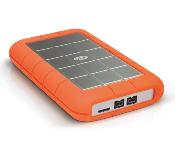 LaCie 2TB Rugged Triple FW800 & USB3 - 298298 - zdjęcie 2