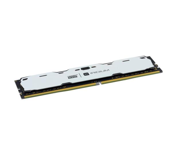 GOODRAM 8GB 2400MHz IRIDIUM White CL15 (2x4GB) - 361606 - zdjęcie 2