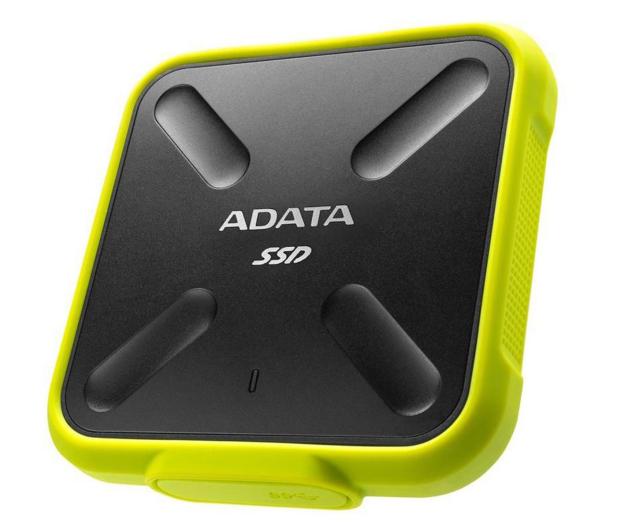 ADATA 256GB USB 3.1 External SD700 Durable Yellow - 340500 - zdjęcie 2