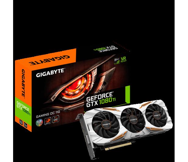 Gigabyte GeForce GTX 1080 Ti GAMING OC 11GB GDDR5X  - 361660 - zdjęcie