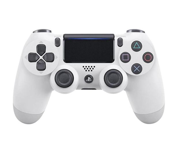 Sony Kontroler Playstation 4 DualShock 4 biały V2 - 361976 - zdjęcie