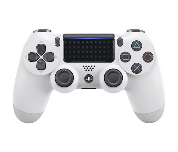 Sony PlayStation 4 DualShock 4 White V2 - 361976 - zdjęcie
