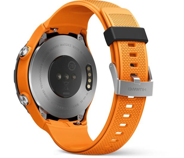 Huawei Watch 2 Sport LTE pomarańczowy  - 362663 - zdjęcie 3