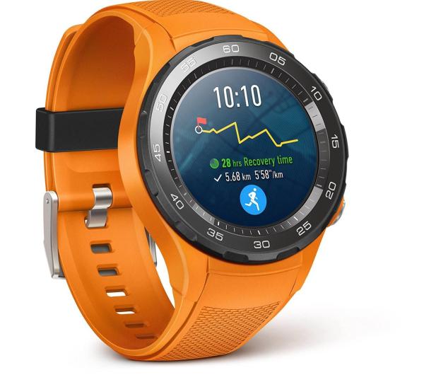 Huawei Watch 2 Sport LTE pomarańczowy  - 362663 - zdjęcie
