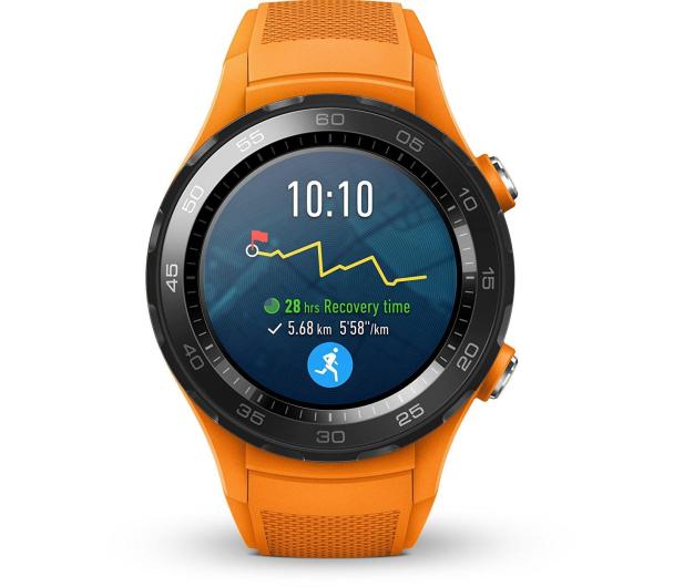 Huawei Watch 2 Sport LTE pomarańczowy  - 362663 - zdjęcie 2
