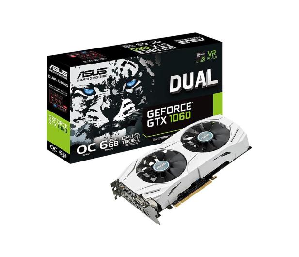 ASUS GeForce GTX 1060 Dual 6GB GDDR5 - 316840 - zdjęcie