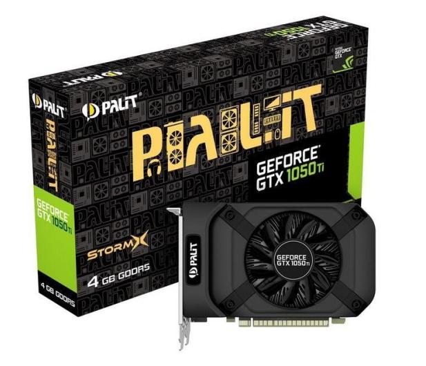 Palit GeForce GTX 1050 Ti StormX 4GB GDDR5  - 332036 - zdjęcie