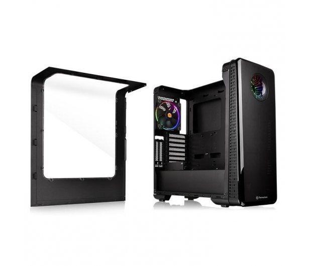 Thermaltake View 28 RGB Riing Edition czarna z oknem - 359387 - zdjęcie 4