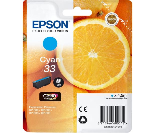 Epson T3342 cyan 300 str.  - 342388 - zdjęcie