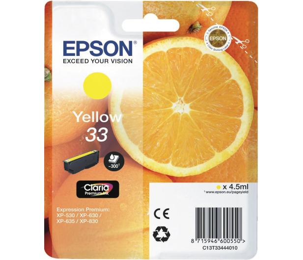 Epson T3344 yellow 300 str.  - 342391 - zdjęcie