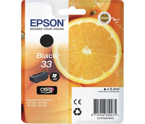 Epson T3331 czarny 250 str.  - 342384 - zdjęcie