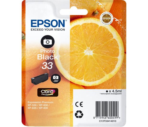 Epson T3341 czarny foto 200 str.  - 342387 - zdjęcie