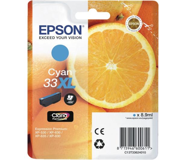 Epson T3362 cyan 650 str. - 342419 - zdjęcie