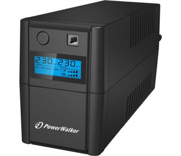Power Walker VI 650 SE (650VA/360W, 2xSchuko, AVR, USB, LCD) - 359594 - zdjęcie