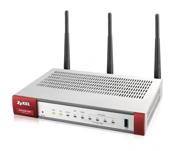 Zyxel USG20W-VPN WiFi (4x100/1000Mbit 1xWAN 1xSFP) - 359167 - zdjęcie 2