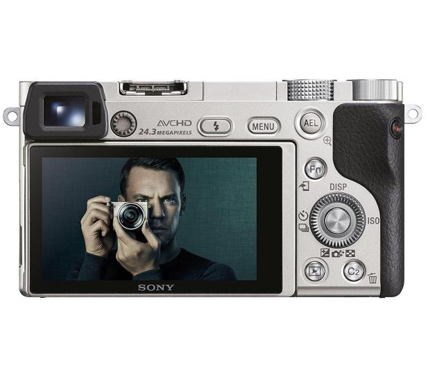 Sony ILCE A6000 + 16-50mm srebrny - 189760 - zdjęcie 4
