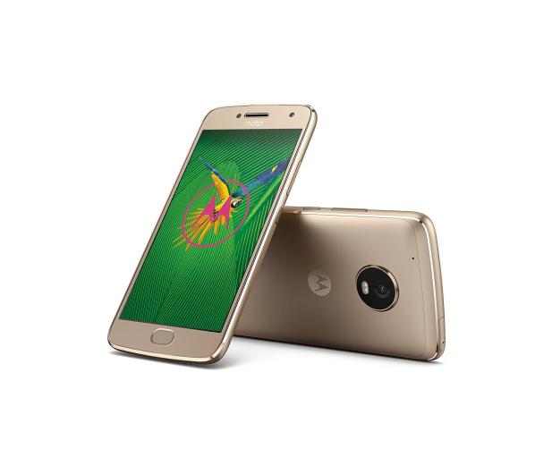 Motorola Moto G5 Plus 3/32GB Dual SIM złoty  - 363436 - zdjęcie 4