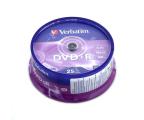 Verbatim 4.7GB 16x (AZO) CAKE 25szt. (43500)