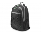 "HP Active Backpack 15,6"" (czarno-zielony) (1LU22AA)"