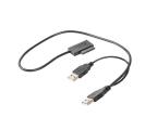 Gembird Adapter USB(M)+Power -> SATA Slim SSD (na kablu) (A-USATA-01)