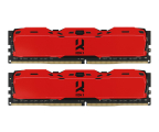 GOODRAM 16GB 3000MHz IRDM X Red CL16 (2x8GB) (IR-XR3000D464L16S/16GDC)