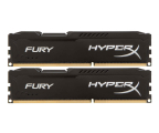 HyperX 8GB 1600MHz Fury Black CL10 (2x4GB) (HX316C10FBK2/8)