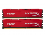 HyperX 16GB 1600MHz Fury Red CL10 (2x8GB) (HX316C10FRK2/16)