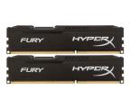Pamięć RAM DDR3 HyperX 16GB (2x8GB) 1600MHz CL10 Fury Black
