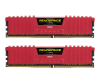 Corsair 16GB 2133MHz Vengeance LPX Red CL13 (2x8GB) (CMK16GX4M2A2133C13R)