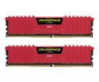 Corsair 16GB 2666MHz Vengeance LPX Red CL16 (2x8GB) (CMK16GX4M2A2666C16R)