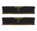 Pamięć RAM DDR4 Corsair 16GB (2x8GB) 3000MHz CL16 Vengeance LPX Black