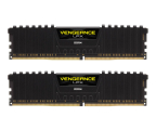 Corsair 16GB 2400MHz Vengeance LPX Black CL16 (2x8GB) (CMK16GX4M2Z2400C16)