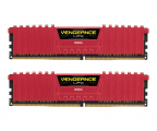 Corsair 16GB 2400MHz Vengeance LPX Red CL14 (2x8GB) (CMK16GX4M2A2400C14R)