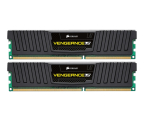 Corsair 8GB 1600MHz Vengeance LP Black CL9 (2x4GB) (CML8GX3M2A1600C9)