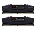 G.SKILL 16GB 3200MHz Ripjaws V Black CL16 (2x8GB) (F4-3200C16D-16GVKB)