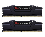 G.SKILL 8GB 3200MHz Ripjaws V Black CL16 (2x4GB) (F4-3200C16D-8GVKB)