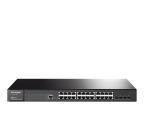 TP-Link 28p T2600G-28TS Rack (24x100/1000Mbit, 4xSFP) (T2600G-28TS(TL-SG3424) (zarządzalny) (SMB))