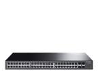 TP-Link 52p T1600G-52TS(TL-SG2452) (48x1000Mbit, 4xSFP) (T1600G-52TS(TL-SG2452) (zarządzalny) (SMB))