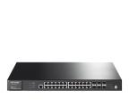 TP-Link 28p T3700G-28TQ (24x100/1000Mbit, 4xSFP, 2xSFP+) (T3700G-28TQ (zarządzalny) (SMB))