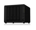 Dysk sieciowy NAS / macierz Synology DS918+ (4xHDD, 4x1.5-2,3GHz, 4GB, 2xUSB, 2xLAN)
