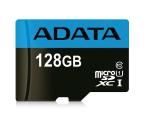 ADATA 128GB microSDXC Premier 85MB/s A1 V10 C10 UHS-I  (AUSDX128GUICL10A1-RA1)